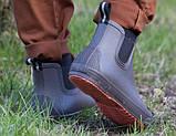 Ботинки мужские водонепроницаемые Nordman Beat ПС-30 с серой подошвой, фото 5