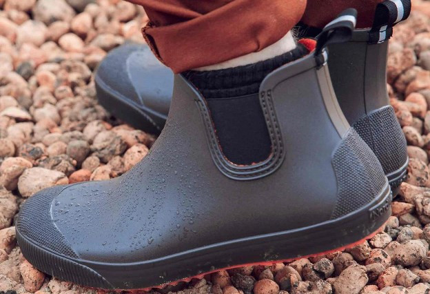 Ботинки мужские водонепроницаемые Nordman Beat ПС-30 с серой подошвой