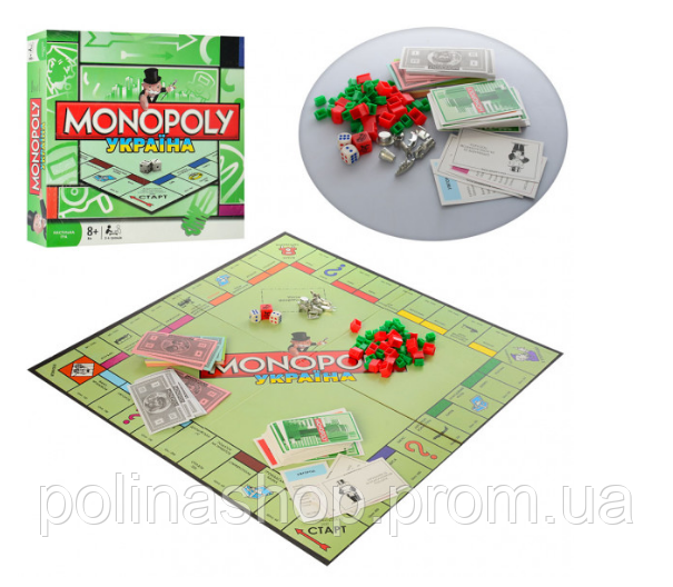 Настільна гра Монополія Україна