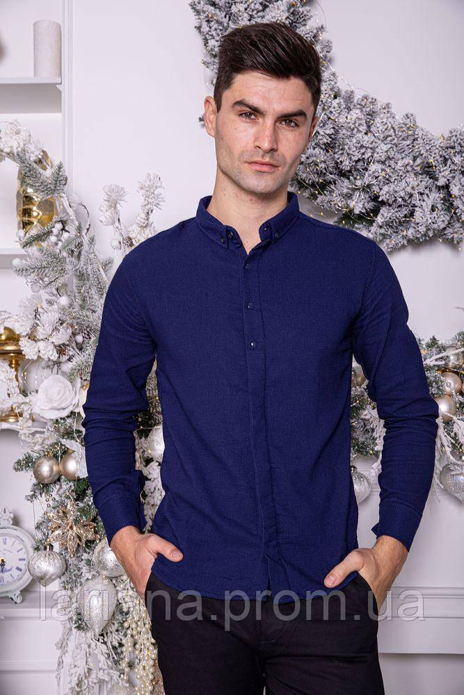 Рубашка 511F004-2 цвет Темно-синий