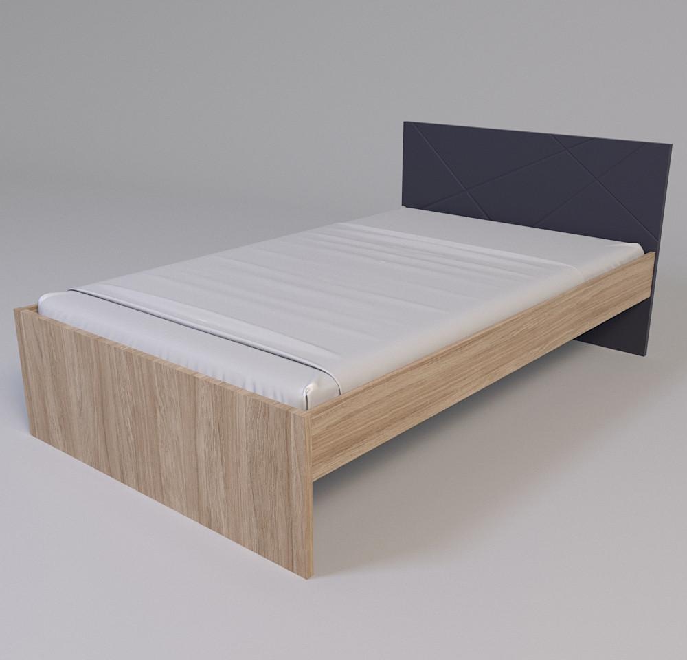 Кровать Х-Скаут Х-12 (120*200) графит мат