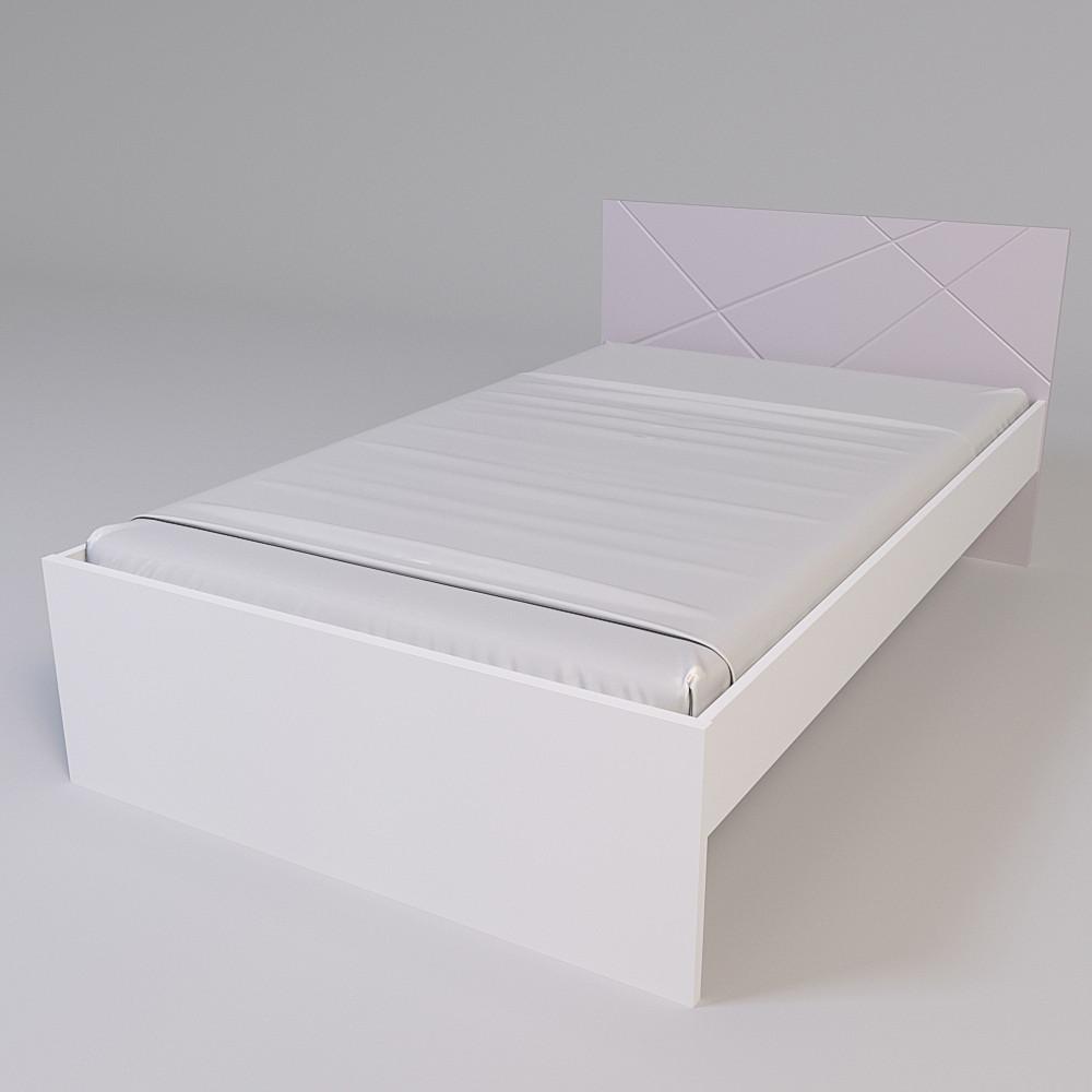 Кровать Х-Скаут Х-12 (120*200) пудрово-розовый мат