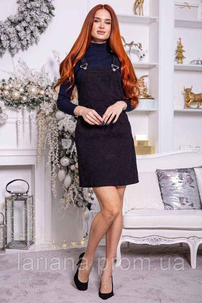 Сарафан женский 153R1071-1 цвет Черный