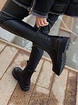 """Зимние ботинки Bottega Veneta Chelsea Mid """"Черные"""", фото 2"""