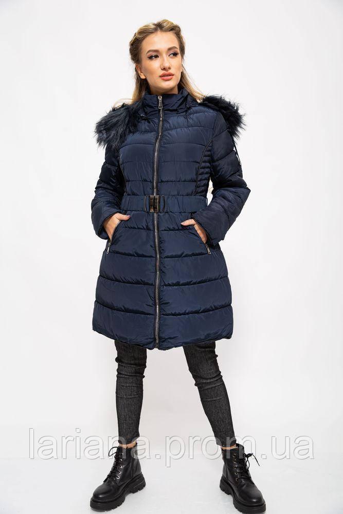 Куртка женская 129R8287 цвет Темно-синий