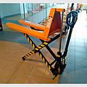 Гидравлическая тележка MD-HA10 высокоподъемная Giant Move, вилы 1190мм, фото 2