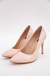 Туфли женские 148R003 цвет Пудровый