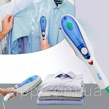 Ручний відпарювач для одягу TOBI Steam Brush | Парова праска | Щітка-праска