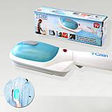 Ручной отпариватель для одежды TOBI Steam Brush   Паровой утюг   Щетка-утюг, фото 3