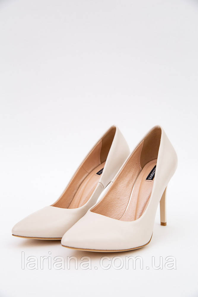 Туфли женские 148R003-1 цвет Бежевый