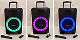 Колонка аккумуляторная с микрофоном ZPX ZX-7778 200W (Bluetooth/USB/FM/TWS), фото 2