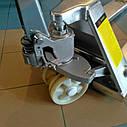 Гидравлическая тележка из нержавеющей стали CBY-BX2.5, Niuli, вилы 1150мм, фото 2
