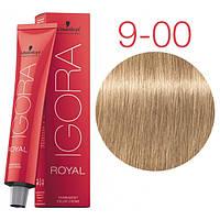 Перманентная крем-краска IGORA ROYAL Naturals, Schwarzkopf Professional 60 мл. 9-00 Экстра светлый блондин натуральный экстра