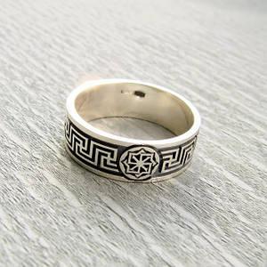Серебряные славянские кольца