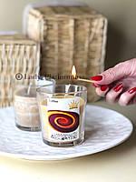 Ароматизированная свеча с запахом ириски