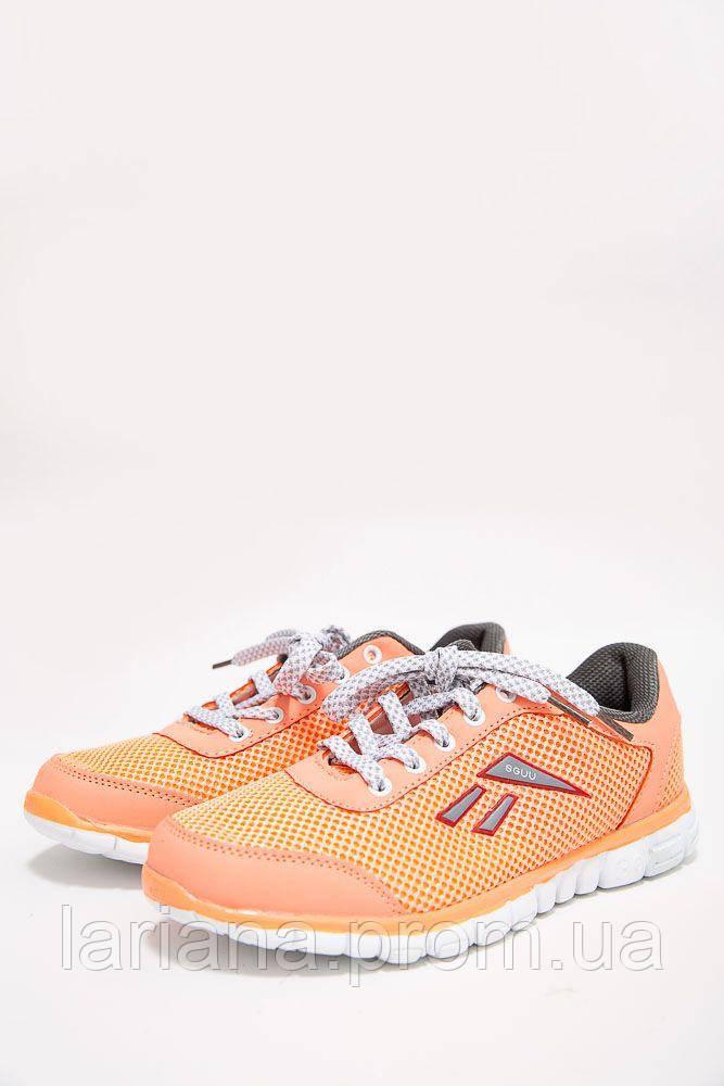 Кроссовки женские 131R8389-11 цвет Оранжевый