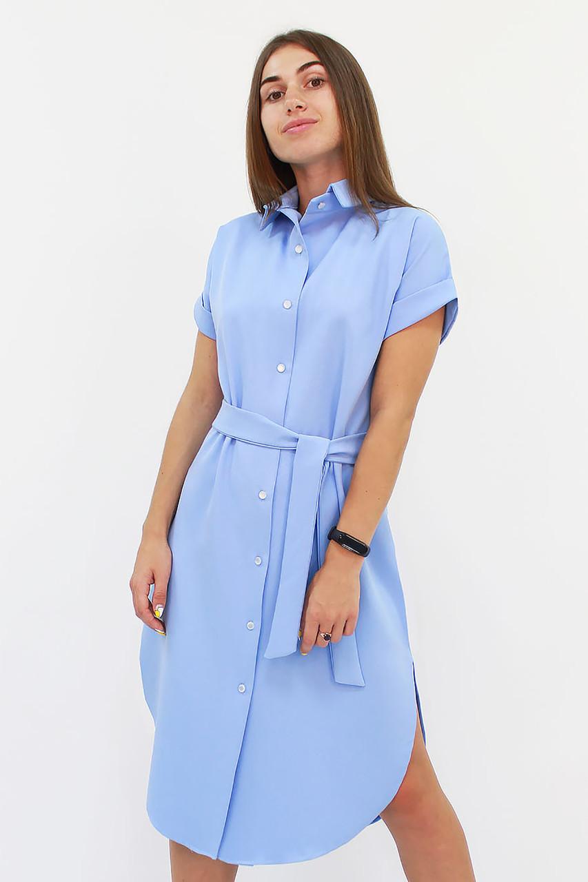 Повседневное платье-рубашка Sandy, голубой