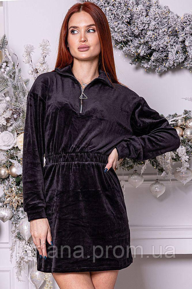 Платье женское 112R466 цвет Черный