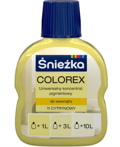 Барвник COLOREX 11 лимонний 100мл