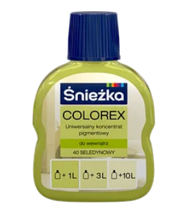 Барвник COLOREX 40 салатний 100мл