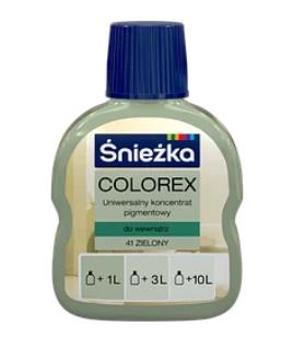 Барвник COLOREX 41 зелений 100мл