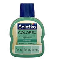 Барвник COLOREX 42 зелений весняний 100мл