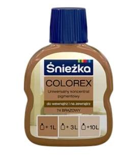 Барвник COLOREX 74 коричневий 100мл