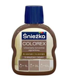 Барвник COLOREX коричневий темний 100мл
