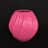 Ваза для декору Лія (Рожевий)