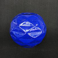 Ваза для декору Куля з гранями (Синій)