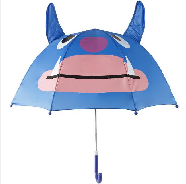 Детский зонтик 3D ушки