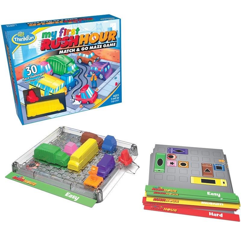 Игра-головоломка Час Пик для самых маленьких My First Ruch Hour ThinkFun 5090