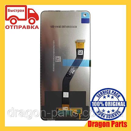 Дисплей Samsung A215 Galaxy A21 с сенсором Без рамки Черный, Зеленый, Синий оригинал , GH82-10599A БР, фото 2