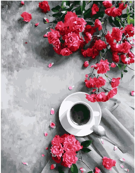 Картина по номерам Гармония ароматов 40х50 Yarik's (без коробки)