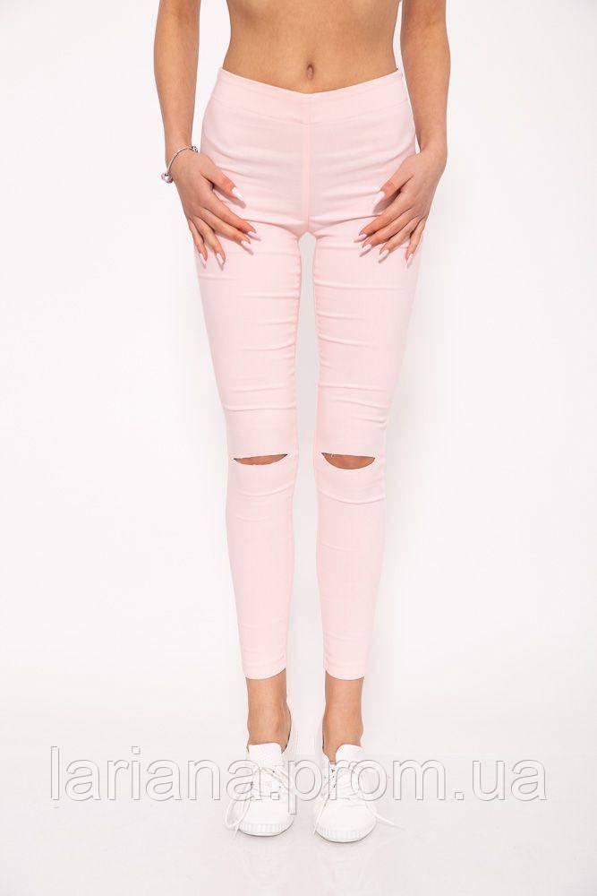 Джеггинсы 102R005 цвет Светло-розовый