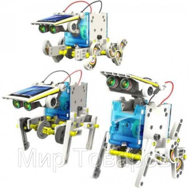 Конструктор Robotics Робот на солнечных батареях 14 в 1