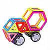 Магнитный конструктор на 48 деталей развивающая игрушка для детей, фото 3