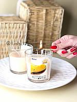 Ароматизированная свеча с запахом дыни