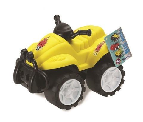 """Квадроцикл Keenway """"Воротилы"""" желтый"""