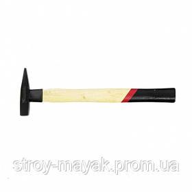 Молоток слесарный надежный 100 г, квадратный боек, деревянная ручка, MTX