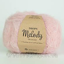 Пряжа Drops Melody (цвет 06 powder pink)