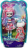 Кукла энчантималс Лебедь, Enchantimals Saffi Swan, Лялька Лебідь Енчантімалс, фото 9