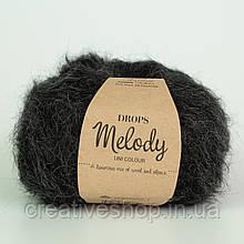 Пряжа Drops Melody (цвет 05 black)