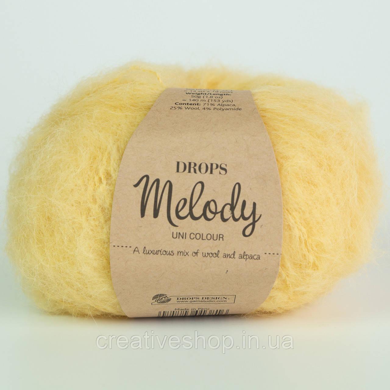 Пряжа Drops Melody (цвет 14 vanilla)