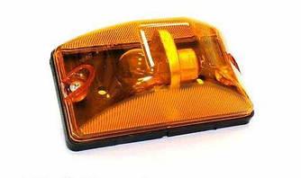 Покажчик повороту 24В бік.доп., 6 кат., жовтий. (пр-во Руденск) 112.03.30