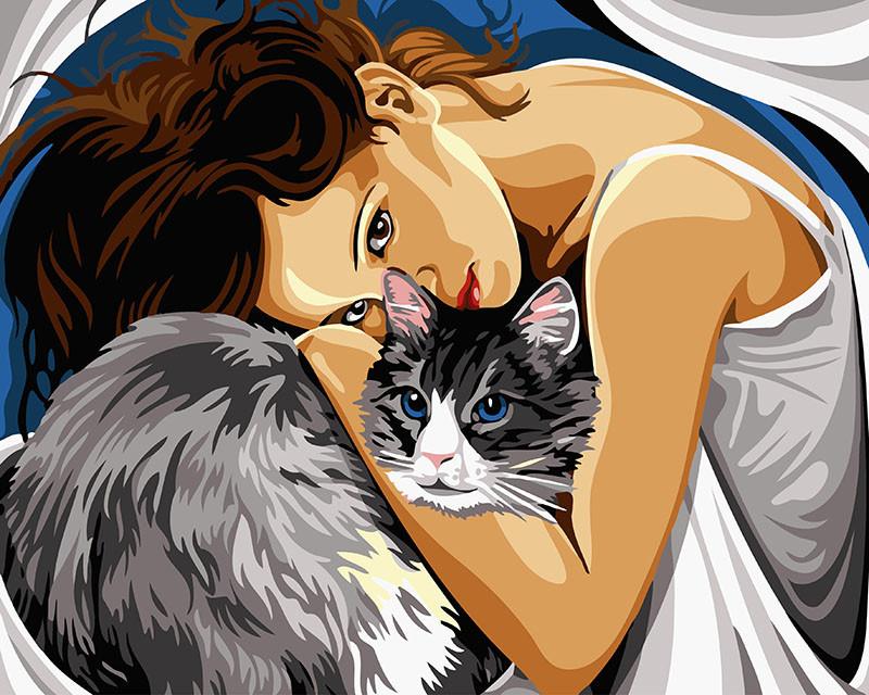 Картина по номерам Люди как коты 40х50 Yarik's (без коробки)