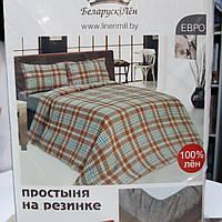 """Льняной комплект постельного белья """"Диана"""", фото 1"""