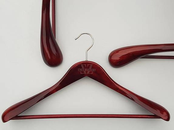 Плічка Mainetti Royal кольору махагон, довжина 45 см, фото 2