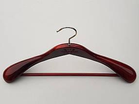Плічка Mainetti Royal кольору махагон, довжина 45 см, фото 3
