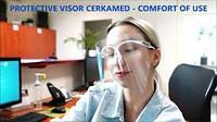 Защитные щитки COMFORT Cerkamed оправа +5 экранов
